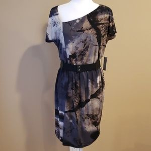 Donna Morgan Belted Dress NWT